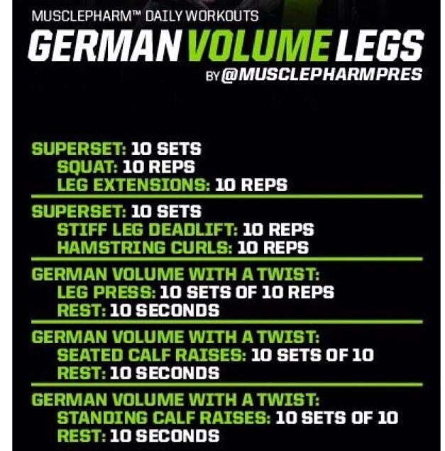German Volume Training, German Volume Training Infrographics, Advantages of German Volume Training, GVT, Fitness Articles, Fit Guys, Fitness Advice, Fit People