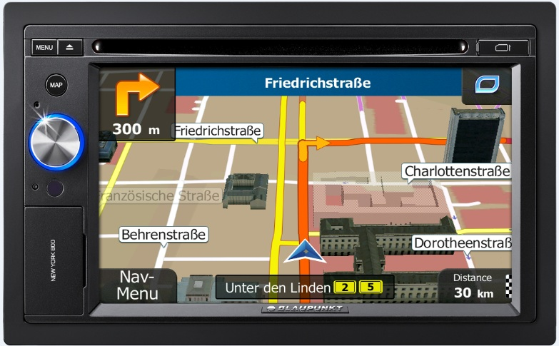new york 800, navigation systems, gps macchines, blaupunkt gps machines, accessory, stylerug, www.stylerug.net