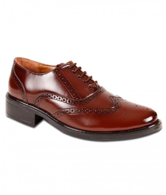 694093-san-frissco-tan-brogue-shoes