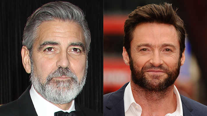 Hollywood Celebs Who Rock Beard, Hollywood Stories, George Clooney, Gerard Butler, Mens Fashion Stories, SR Features, Dapper, Mens Style