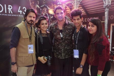 Team StykeRug With Sushant