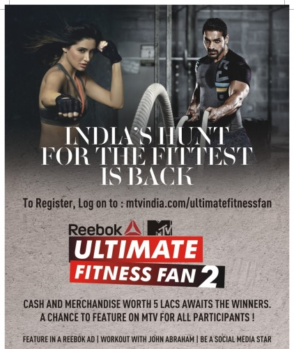Reebok MTV Ultimate Fitness Fan 2, Reebok MTV Ultimate Fitness Fan, FItness Updates, Fitness Articles, InstaFit, Fitness,