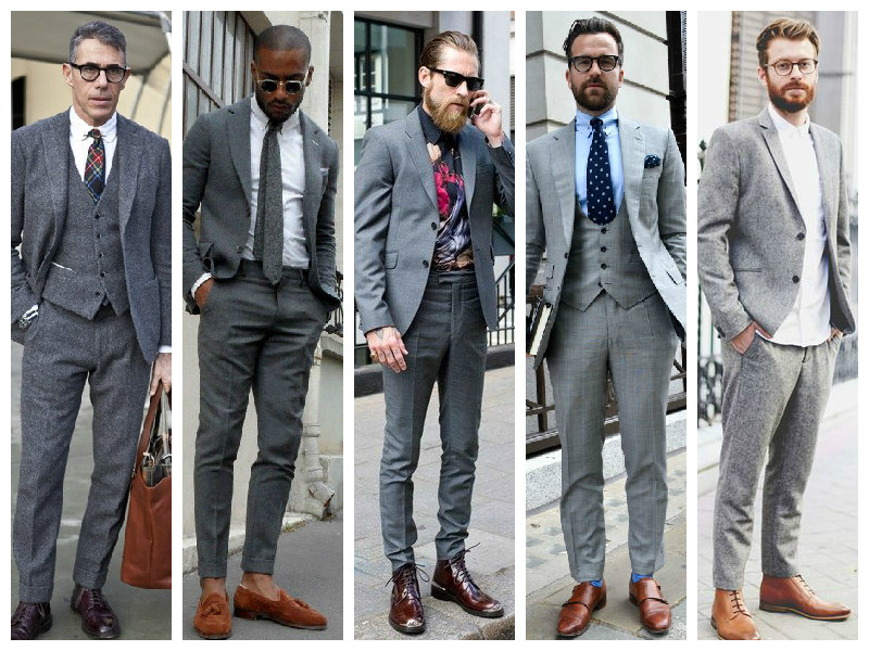 The Grey Menswear Trend | StyleRug