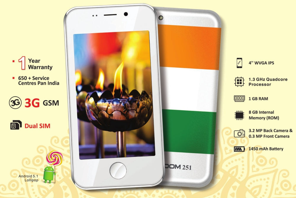 Freedom 251, Make In India, Ringing Bells, Ad COM, SmartPhones India, Cheapest Smartphone, SmartPhones Below 5000, Freedom 251 Reviews, Tech Stories, New Gadgets Launched India