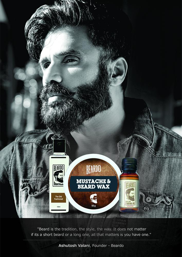beardo signs suniel shetty as brand mentor stylerug. Black Bedroom Furniture Sets. Home Design Ideas