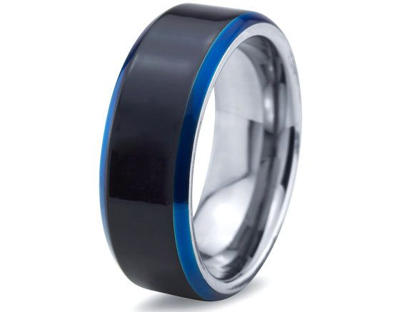 Tungsten Wedding Band For Men StyleRug