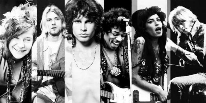 Club 27, Jim Morrison, Jimi Hendrix