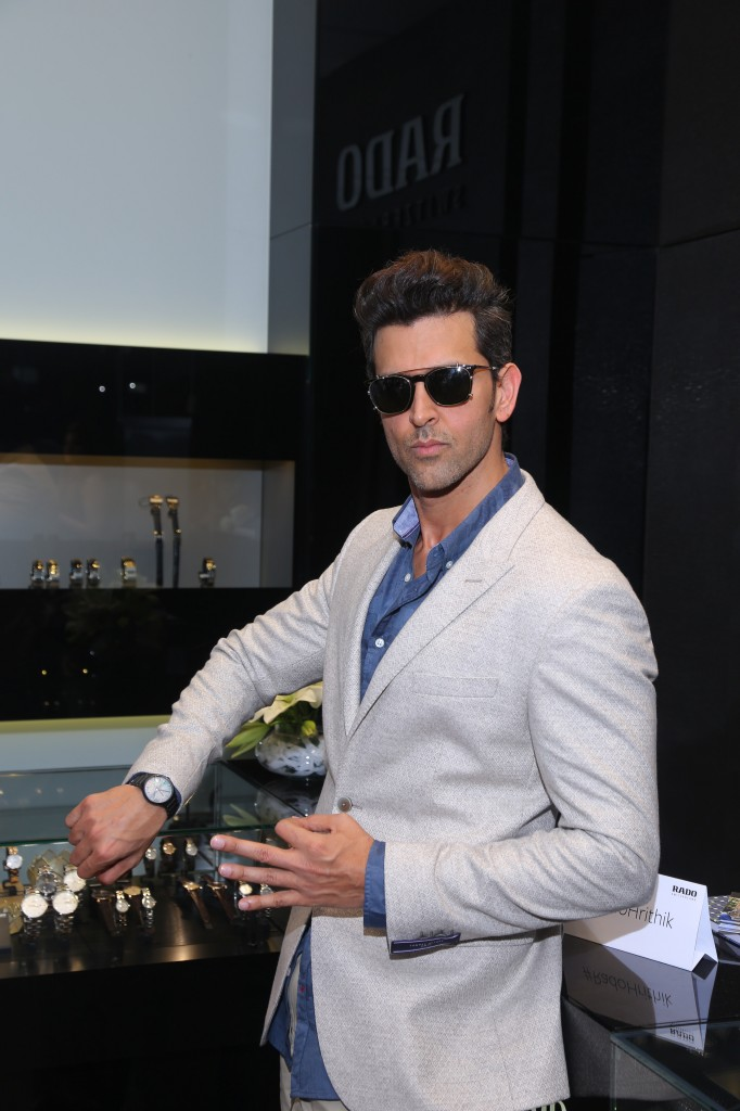 Hrithik Roshan, Rado Lightweight Launch, Rado New Watch, Bollywood Update, Bollywood News, Entertainment News, Best Fashion Magazines Delhi, Mens Fashion Blogs India, Dapper, GQ, Mens Style, Men With Class, Menscorner, Hot Men, Hot Men Images