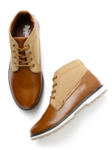 Roadster-Men-Brown-Derbys-Rs.-2699-Available-on-Myntra