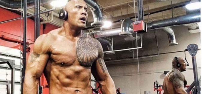 The Rock's Playlist For Workout, The Rock, Dwayne Johnson, Fitness, Gym Songs, Gym Playlist, Workout Tips, StyleRug, Virat Kohli, Shah Rukh Khan