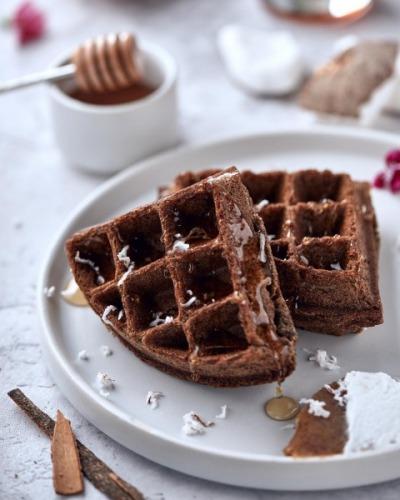 Ragi Waffle Image